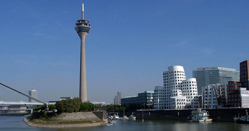 Dusseldorf Harbor